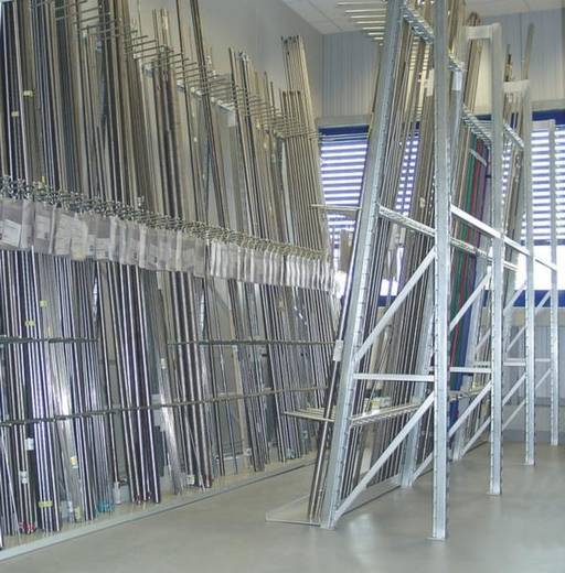 Vertikalregal-Anbaumodul (B x H x T) 937 x 2500 x 875 mm Stahl verzinkt Wannenboden 50018 Verzinkt