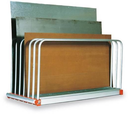Tafelregal-Komplettregal (B x H x T) 2030 x 1000 x 800 mm Stahl verzinkt Verzinkt 817X013