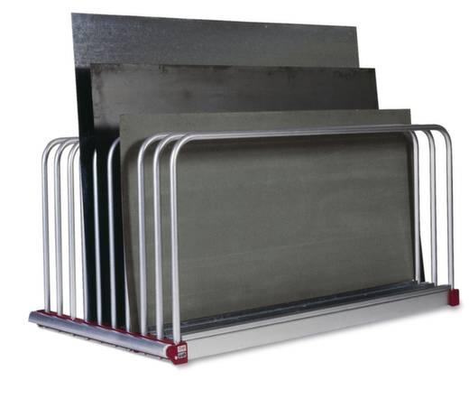 Tafelregal-Komplettregal (B x H x T) 2030 x 1000 x 800 mm Stahl verzinkt Verzinkt 816X013