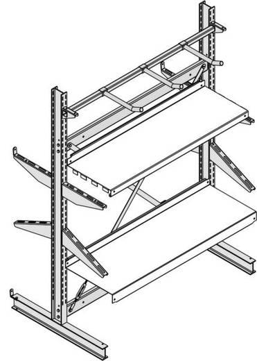 Fachboden (B x T) 1056 mm x 500 mm Stahl verzinkt Verzinkt Metallboden 29.437