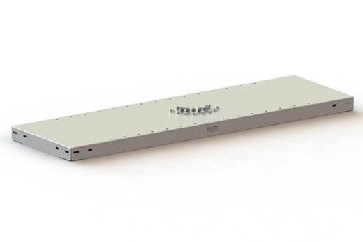 Fachboden (B x T) 1300 mm x 600 mm Stahl pulverbeschichtet Lichtgrau Metallboden META 70298