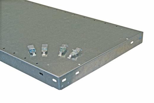 Fachboden (B x T) 1300 mm x 600 mm Stahl pulverbeschichtet Lichtgrau Metallboden META 67958