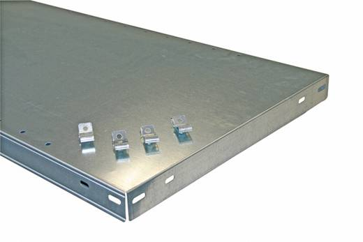 Fachboden (B x T) 1000 mm x 500 mm Stahl pulverbeschichtet Lichtgrau Metallboden META 67884