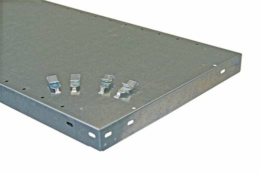Fachboden (B x T) 1000 mm x 600 mm Stahl verzinkt Verzinkt Metallboden META 1628