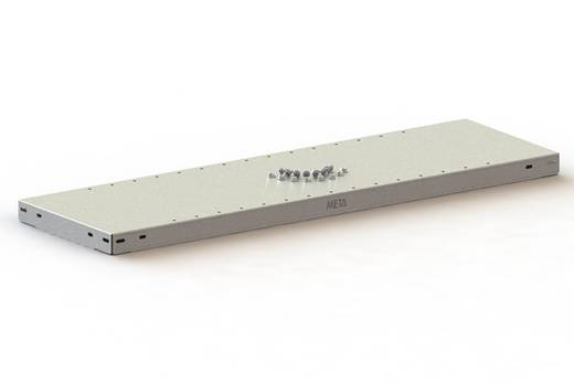 Fachboden (B x T) 1000 mm x 300 mm Stahl pulverbeschichtet Lichtgrau Metallboden META 77658