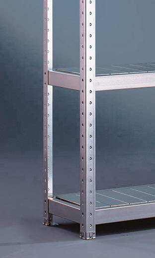 Fachboden (B x T) 2000 mm x 400 mm Stahl verzinkt Verzinkt Stahlpaneele META 87043