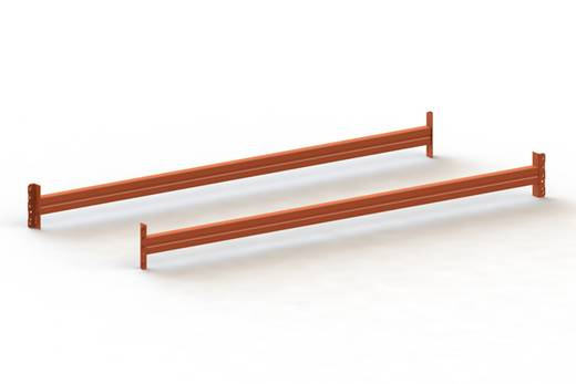 Traverse Stahl pulverbeschichtet Rot-Orange Traversen META 80411