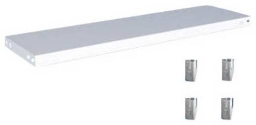Fachboden (B x T) 1000 mm x 300 mm Stahl kunststoffbeschichtet Lichtgrau Metallboden Orion Regalsysteme K10030M/040