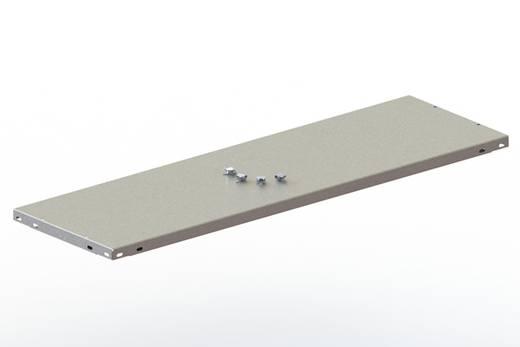 Fachboden (B x T) 1250 mm x 300 mm Stahl pulverbeschichtet Lichtgrau Metallboden META 74742