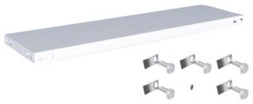 Fachboden (B x T) 1000 mm x 300 mm Stahl kunststoffbeschichtet Lichtgrau Metallboden Orion Regalsysteme K10030L/051