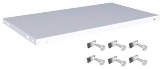 Fachboden (B x T) 1000 mm x 600 mm Stahl kunststoffbeschichtet Lichtgrau Metallboden Orion Regalsysteme K10060L/051