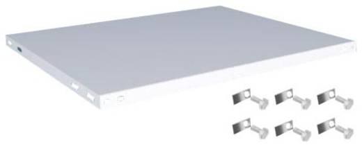 Fachboden (B x T) 1000 mm x 800 mm Stahl kunststoffbeschichtet Lichtgrau Metallboden Orion Regalsysteme K10080L/051