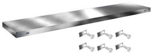 Fachboden (B x T) 1300 mm x 300 mm Stahl verzinkt Verzinkt Metallboden Orion Regalsysteme Z13030L/051
