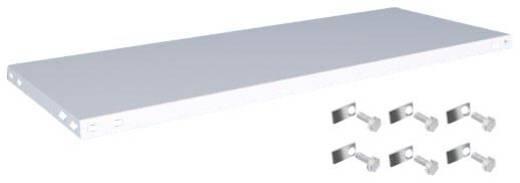 Fachboden (B x T) 1300 mm x 500 mm Stahl kunststoffbeschichtet Lichtgrau Metallboden Orion Regalsysteme K13050L/051