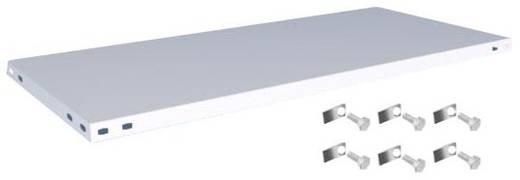 Fachboden (B x T) 1300 mm x 600 mm Stahl kunststoffbeschichtet Lichtgrau Metallboden Orion Regalsysteme K13060L/051