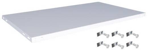 Fachboden (B x T) 1300 mm x 800 mm Stahl kunststoffbeschichtet Lichtgrau Metallboden Orion Regalsysteme K13080L/051