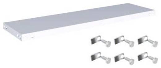 Fachboden (B x T) 1000 mm x 300 mm Stahl kunststoffbeschichtet Lichtgrau Metallboden Orion Regalsysteme K10030M/051