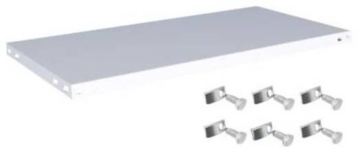 Fachboden (B x T) 1000 mm x 500 mm Stahl kunststoffbeschichtet Lichtgrau Metallboden Orion Regalsysteme K10050M/051