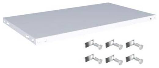 Fachboden (B x T) 1000 mm x 600 mm Stahl kunststoffbeschichtet Lichtgrau Metallboden Orion Regalsysteme K10060M/051