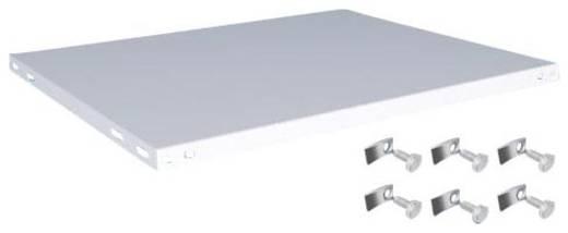 Fachboden (B x T) 1000 mm x 800 mm Stahl kunststoffbeschichtet Lichtgrau Metallboden Orion Regalsysteme K10080M/051