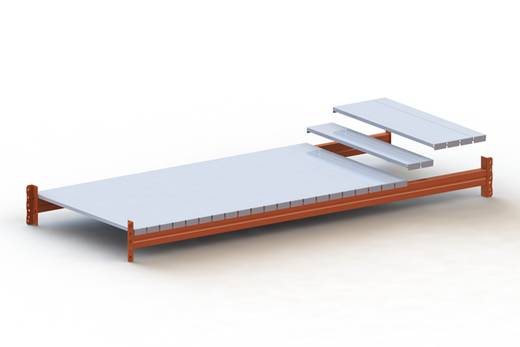 Fachboden (B x T) 1300 mm x 1100 mm Stahl verzinkt Verzinkt Stahlpaneele META 79512