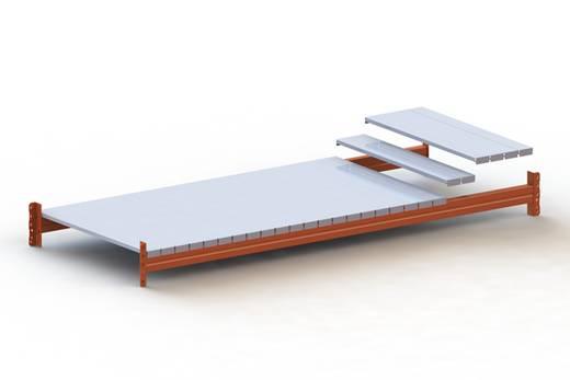 Fachboden (B x T) 2200 mm x 800 mm Stahl verzinkt Verzinkt Stahlpaneele META 77559