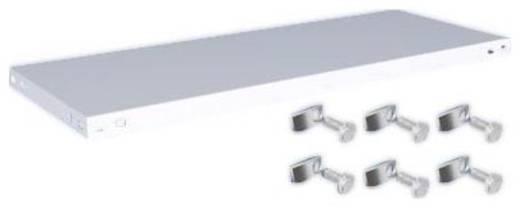 Fachboden (B x T) 1000 mm x 400 mm Stahl kunststoffbeschichtet Lichtgrau Metallboden Orion Regalsysteme K10040S/051