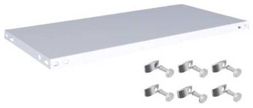 Fachboden (B x T) 1000 mm x 500 mm Stahl kunststoffbeschichtet Lichtgrau Metallboden Orion Regalsysteme K10050S/051
