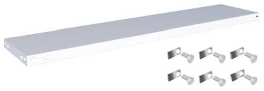 Fachboden (B x T) 1300 mm x 300 mm Stahl kunststoffbeschichtet Lichtgrau Metallboden Orion Regalsysteme K13030S/051