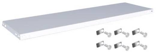 Fachboden (B x T) 1300 mm x 400 mm Stahl kunststoffbeschichtet Lichtgrau Metallboden Orion Regalsysteme K13040S/051