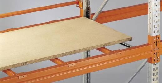 Palettenregal Stahl pulverbeschichtet META 81081 Rotorange (RAL 2001)