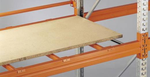 Palettenregal Stahl pulverbeschichtet META 81083 Rotorange (RAL 2001)