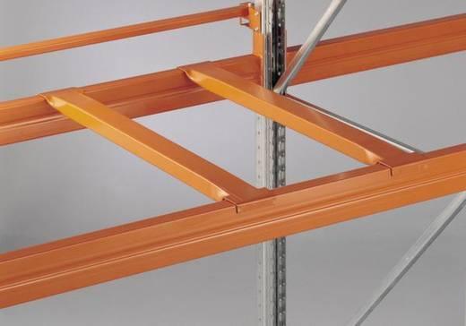 Palettenregal Stahl pulverbeschichtet META 77791 Rotorange (RAL 2001)