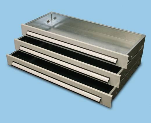 Fachbodenregal (B x H x T) 1000 x 200 x 500 mm META 97275 Lichtgrau (RAL 7035)