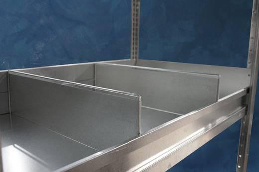 Fachbodenregal (B x H x T) 1000 x 75 x 600 mm Stahl META 97171