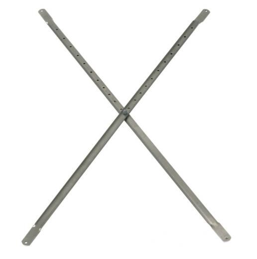 Diagonalverstrebung Aluminium 203062