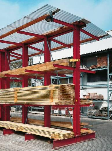 Diagonalverstrebung (B x H) 1000 mm x 4000 mm Stahl verzinkt Verzinkt -