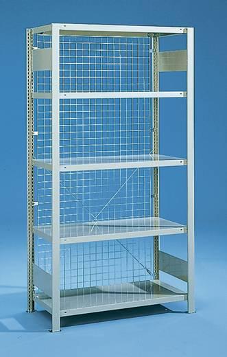 Fachbodenregal (B x H) 1000 mm x 3000 mm verzinkt META 14906 Verzinkt
