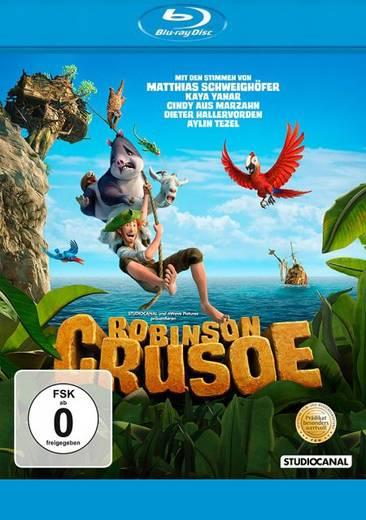 blu-ray Robinson Crusoe FSK: 0