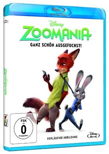 blu-ray Zoomania FSK: 0