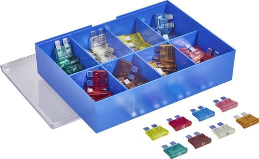 Standard Flachsicherung 4 A, 5 A, 7.5 A, 10 A, 15 A, 20 A, 25 A, 30 A Rosa, Hell-Braun, Braun, Rot, Blau, Gelb, Matt, Gr