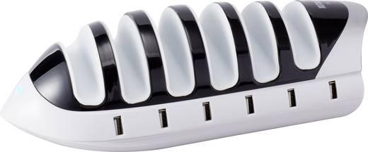 USB-Ladestation VOLTCRAFT CT-6 Steckdose 6 x USB