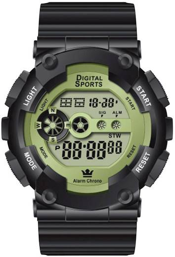 Quarz Armbanduhr 44515/04 Schwarz Gehäusematerial=Kunststoff Material (Armband)=Kunststoff