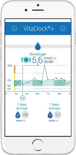 Blutzuckermessgerät Medisana MediTouch 2 mmol/l