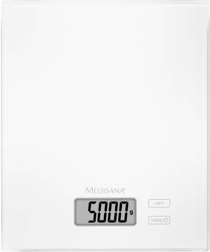 Küchenwaage digital Medisana KS 210 Wägebereich (max.)=5 kg Weiß