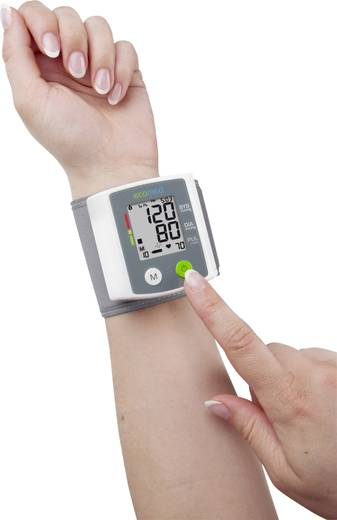 Handgelenk Blutdruckmessgerät Ecomed BW-80E 23210