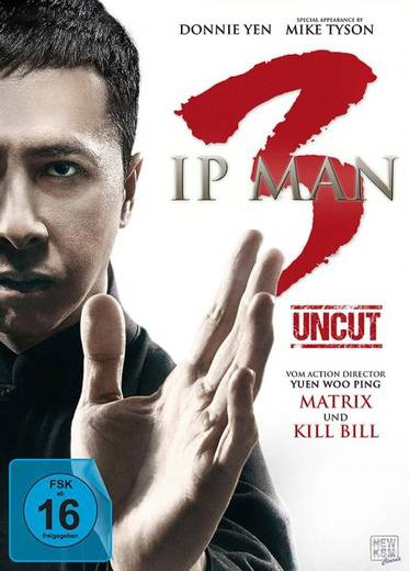 DVD Ip Man 3 FSK: 16