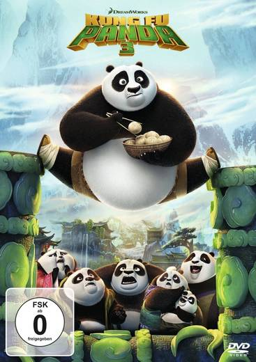 DVD Kung Fu Panda 3 FSK: 0
