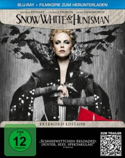blu-ray Snow White & the Huntsman Limited Extended Edition / Steelbook FSK: 12