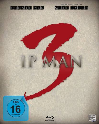 blu-ray Ip Man 3 Steelbook FSK: 16